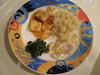海鮮チャーハンと麻婆豆腐