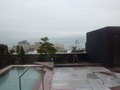 レアな「空中露天風呂」から見た景色
