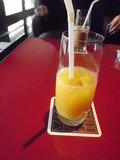 オレンジジュース飲みました!
