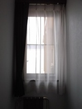 部屋の窓です