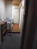 部屋の入口です