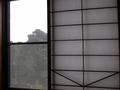 障子張りの窓ヨ