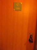 部屋の前です