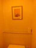 トイレにも素敵な絵!