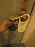 ドアのカード