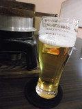 生ビールを注文