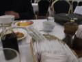 テーブルの風景