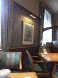 レストランの座席です