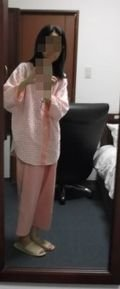 パジャマ、着てみました!