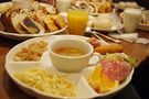ボリューム満点の朝食!