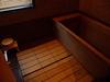 内風呂(ひのき