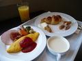 朝食1枚目