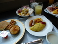 朝食2枚目