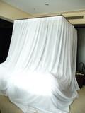 天蓋付きベッド(昼間)