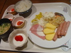 クーリアの豪華朝食バイキング