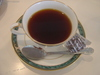 食後にはコーヒー