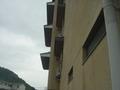 海カフェの屋根