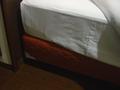 ベッドの下に