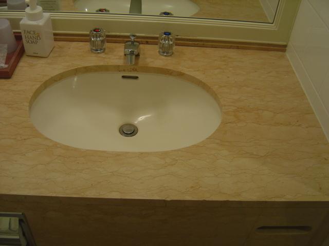 洗面台のスペース