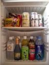 部屋の冷蔵庫