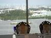 レストランからの眺め.シンデレラ城が綺麗に見える