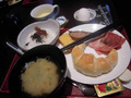 朝食の料理