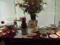 食べ放題のデザートコーナー