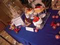 ケーキショップのクリスマスケーキ