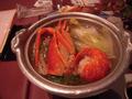 まるごと伊勢海老の鍋