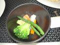 ランチバイキングの蒸し野菜