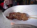 松坂牛の串焼き