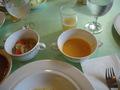 ランチバイキングのスープ