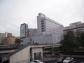 駅から見えるホテル