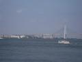 横浜港の景色が綺麗でした。