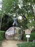 名古屋城加藤清正の像