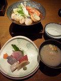 夕食 ~お刺身&スープ&鍋物~