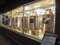 オリジナルビールの醸造庫