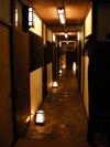 部屋に入る廊下