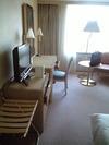 スイスホテル南海大阪 シングルルームの室内