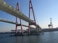 名古屋港入港直前