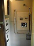 北斗星ロイヤルの個室のシャワールーム