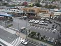 部屋から見える小樽駅