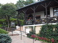 強羅公園内のカフェ
