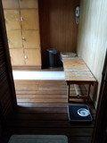 露天風呂のベンチ