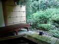 お風呂場のベンチ