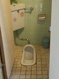 貸切風呂近くのトイレ
