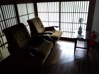 別館の休憩スペース
