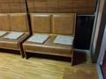 休憩所のソファ