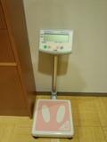 大浴場の体重計