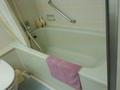 部屋のお風呂の浴槽